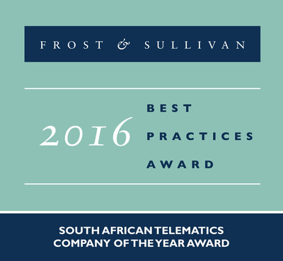 Frost & Sullivan recognizes MiX Telematics as the recipient of the 2016 South African Company of the Year Award.