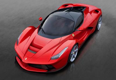 LaFerrari - top front. (PRNewsFoto/Ferrari) (PRNewsFoto/FERRARI)