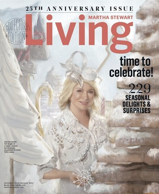 Martha Stewart Living 25th Anniversary Issue
