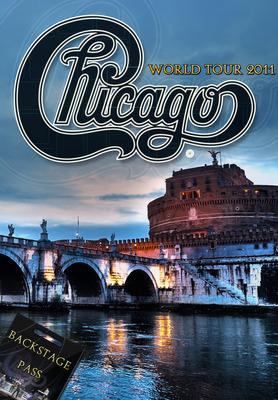 "Chicago World Tour 2011 - ""Backstage Pass"".  (PRNewsFoto/Chicago Music, Inc.)"