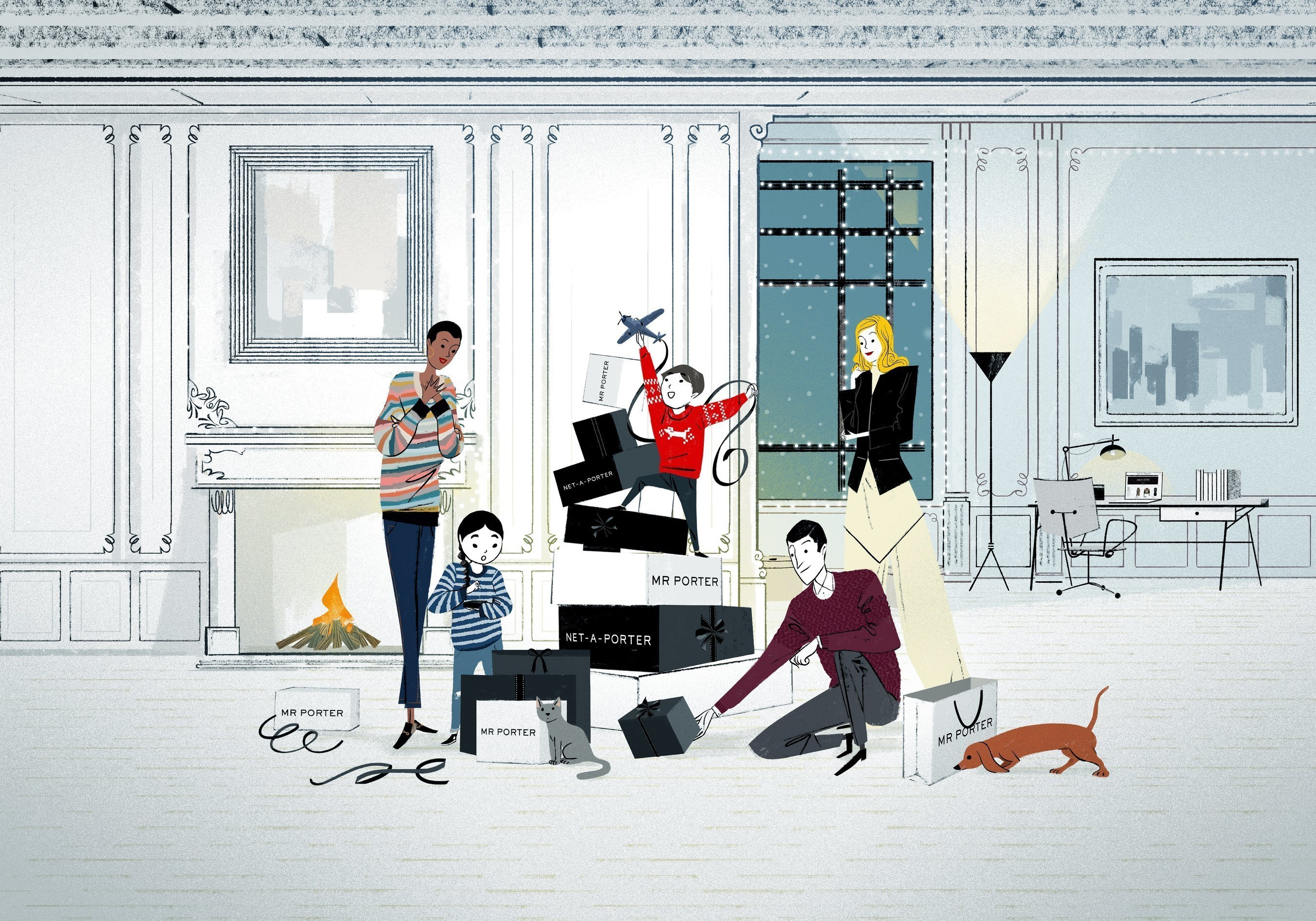 NET-A-PORTER and MR PORTER: Gifts All Wrapped Up