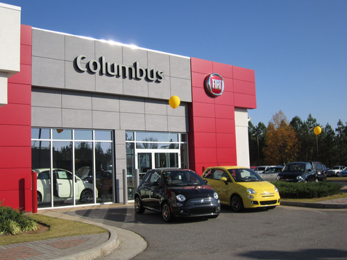 Carl Gregory FIAT of Columbus to Celebrate Grand Opening in Georgia.  (PRNewsFoto/Chrysler Group LLC)