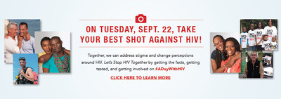 On Tuesday, September 22, take your best shot against HIV!