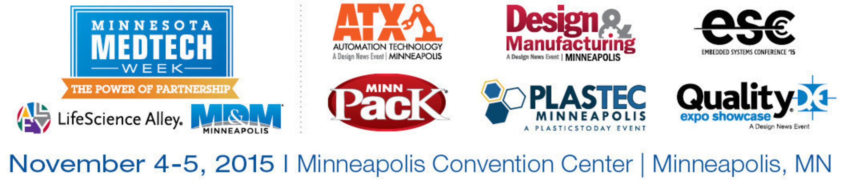 Minnesota Medtech Week   November 4-5, 2015   Minneapolis Convention Center