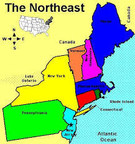 Northeast Map (PRNewsFoto/Mesothelioma Victims Center)