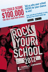 Famous Footwear Launches Rock Your School Contest. One school will receive up to $75,000 for transformation project; One individual will receive a cash prize of up to $25,000.  (PRNewsFoto/Famous Footwear)