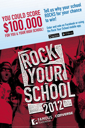 Famous Footwear Launches Rock Your School Contest