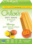 Chloe's Soft Serve Fruit Pops in Mango.