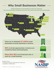 Why Small Businesses Matter infographic.  (PRNewsFoto/National Association of Small Business Professionals)