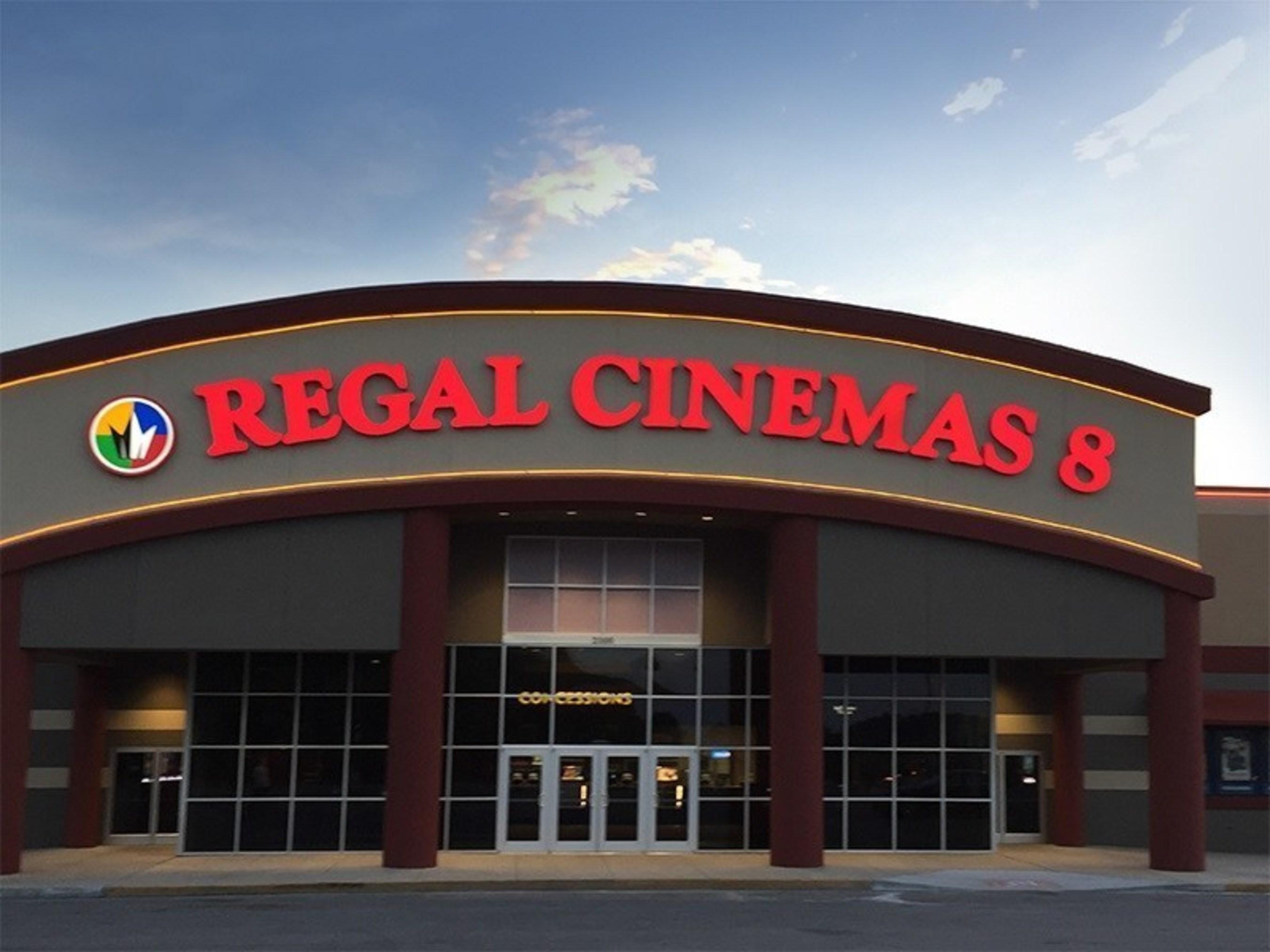 Image Caption: Regal Hamilton Place 8 Image Source: Regal Entertainment Group