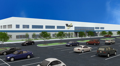 Concept rendering of new, $120M Whirlpool Corp. plant to be built in Cleveland, Tenn.  (PRNewsFoto/Whirlpool Corporation)