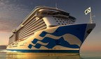 Princess Cruises debuts new livery design on Majestic Princess.