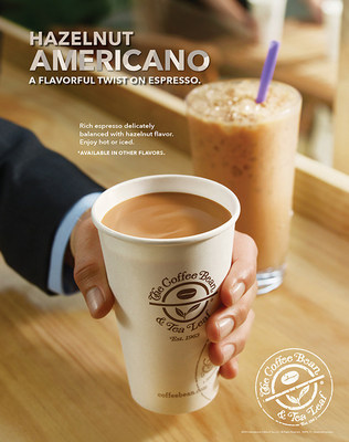 The Coffee Bean & Tea Leaf's new Hazelnut Americano