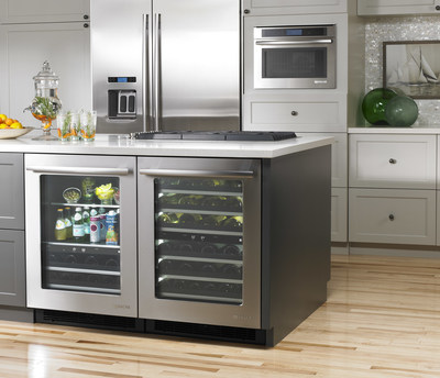 Jenn Air Gives Under Counter Refrigeration The Luxury