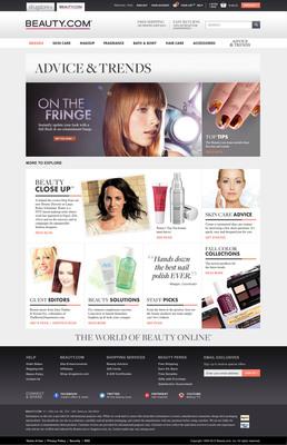 Beauty.com Advice & Trends.  (PRNewsFoto/Beauty.com)