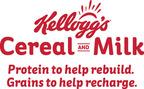 Top Celebrities Partner With Kellogg's(R) To Share The Surprising Benefits of Milk (PRNewsFoto/Kellogg Company)