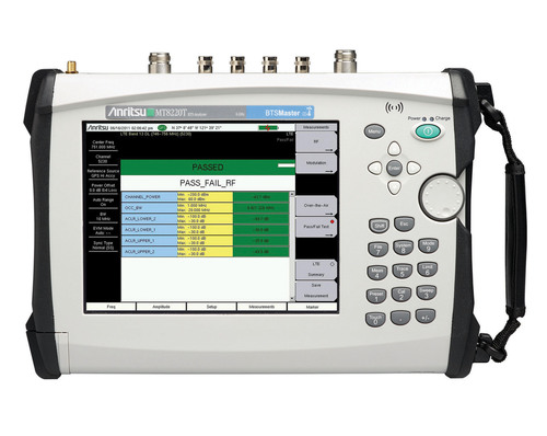 Anritsu MT8220T BTS Master provides network operators, sub-contractors, and installers with an all-in-one tool ...