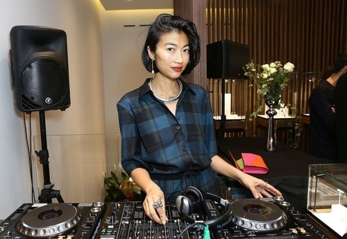 MiMi Xu djs at Georg Jensen flagship launch, London (PRNewsFoto/Georg Jensen) (PRNewsFoto/Georg Jensen)