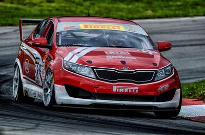 Kia Racing Chases Championship in Round 13 at Sonoma Raceway.  (PRNewsFoto/Kia Motors America)