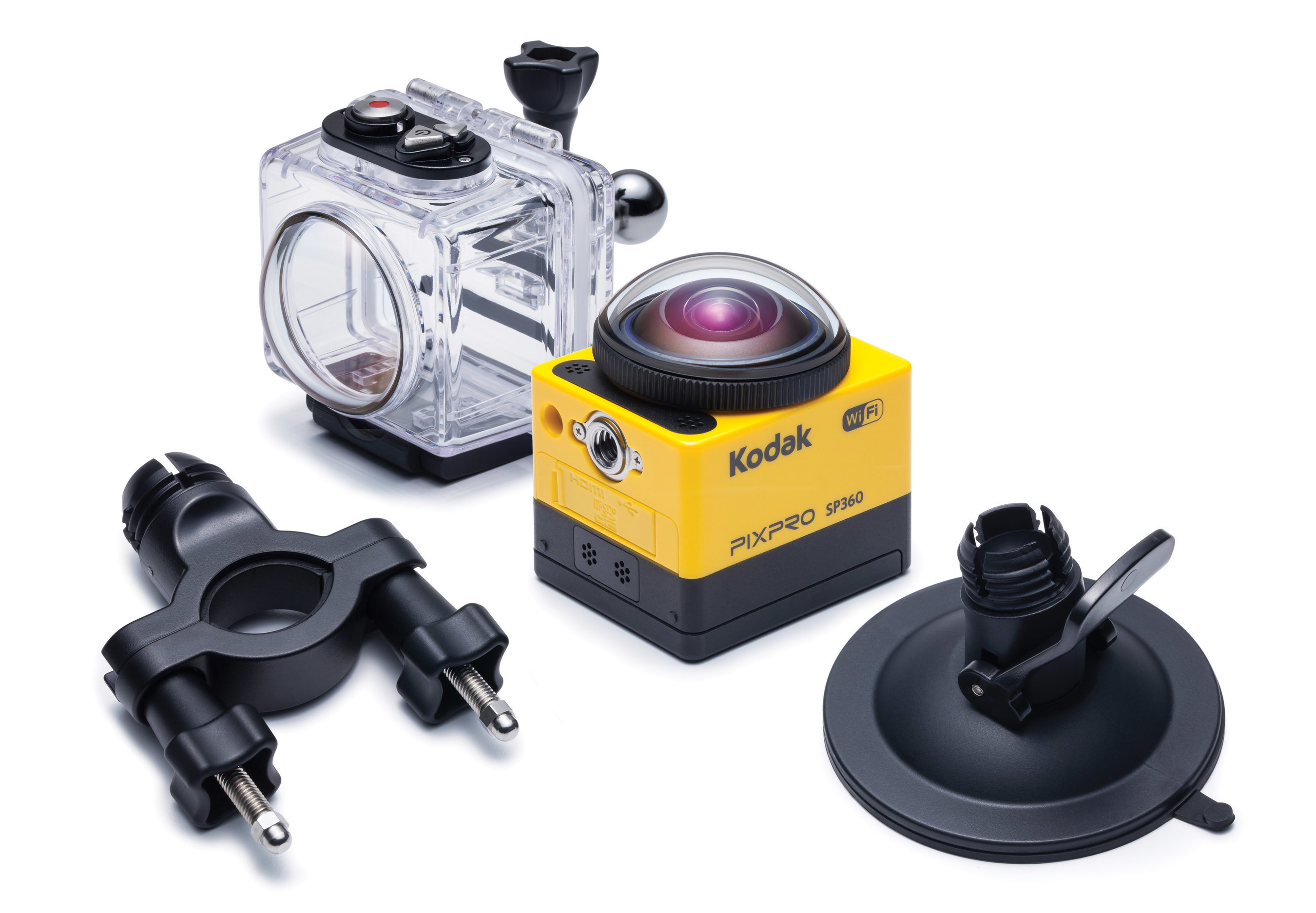 KODAK PIXPRO SP360 Action Camera Amongst The First 360-degree Cameras To Provide Interactive, Immersive Videos On YouTube's 360-degree Video Support