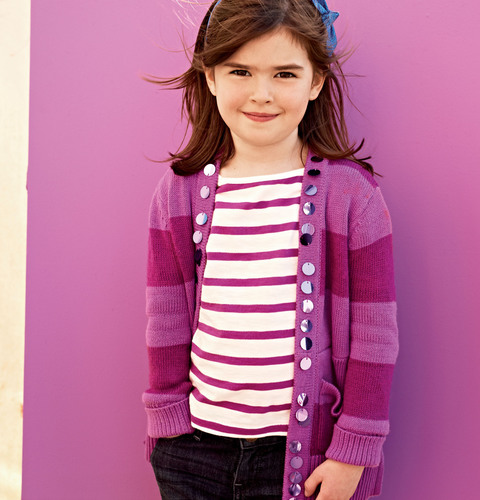 Gap Casting Call winner Taylor, age 6 from Barrie, Ontario.  (PRNewsFoto/Gap Inc.)