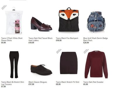 Back to School Outfits Are All Sewed Up With New Look