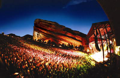 Red Rocks Park and Amphitheatre celebrates its 75th Anniversary in 2016. (Credit: Red Rocks)