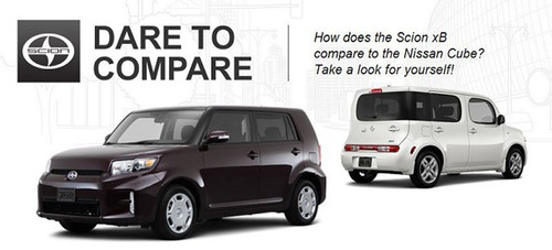 The Scion xB stands above the Nissan Cube by offering more cargo space and horsepower as well as the ability to  ...