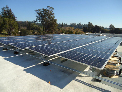 Chevron Energy Solutions and Santa Cruz County Office of Education Install Solar.  (PRNewsFoto/Chevron Energy Solutions)