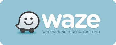 Waze logo.  (PRNewsFoto/IMS)