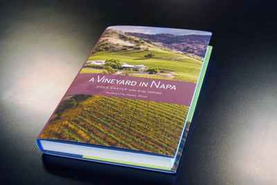 "Doug Shafer's revealing memoir ""A Vineyard in Napa"" is a top holiday gift for wine lovers. The Wine Bible author Karen MacNeil calls it, ""A fantastic read.""  (PRNewsFoto/Doug Shafer)"