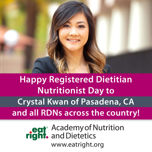 Registered dietitian nutritionists' expertise in nutrition and health is more extensive than any other health profession and has been recognized as such by Congress as well as federal health agencies like the Centers for Medicare and Medicaid Services. March 12, 2014 is Registered Dietitian Nutritionist Day. To learn more and to find an RDN near you, visit www.EatRight.org.  (PRNewsFoto/Academy of Nutrition and Dietetics)