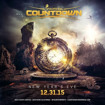 Insomniac Announces 2ND Annual Countdown - The Ultimate New Year's Eve Celebration