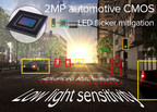 Toshiba's CSA02M00PB is the first 2MP automotive CMOS image sensor with LED flicker mitigation.
