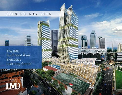 Swiss IMD business school expands in Singapore, opening the IMD Southeast Asia Executive Learning Center. (PRNewsFoto/IMD International)