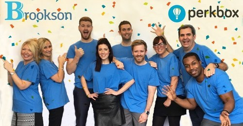 Brookson partners with Perkbox to launch a new perks and engagement programme for employees and contractors to enjoy (PRNewsFoto/Perkbox)