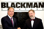 (R-L) David Krakoff, President of the Americas Sales Division for TOTO USA, and Robert Mannheimer, President and CEO of Blackman Plumbing Supply, ink landmark distribution agreement for the Northeast region of the U.S. (PRNewsFoto/TOTO)
