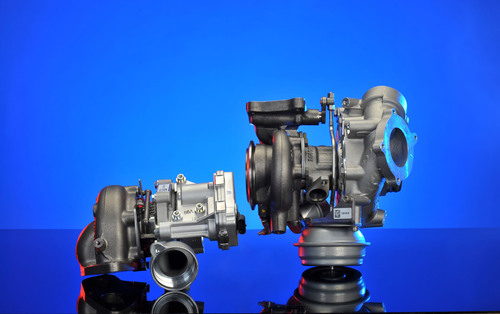 BorgWarner Combines R2S® and VTG Turbocharging Technologies for Powerful New Diesel Engines