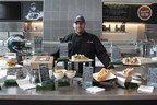 Aramark Executive Chef at Lincoln Financial Field, James Hennessey, poses with new menus items available this season at Philadelphia Eagles games.  The Eagles and Aramark have announced a seven-year extension of its partnership to oversee and manage the concessions, club levels, suites and restaurant dining areas.  Over the course of the partnership, the Eagles and Aramark have collaborated to showcase new and unique food and beverage options to fans every season, with a specific focus on Philadelphia's...