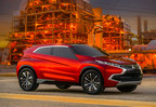 The Mitsubishi Concept XR-PHEV made its North American debut at the Los Angeles Auto Show
