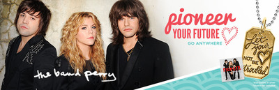 Origami Owl and The Band Perry Celebrate 'Pioneers of the Future' with Limited-Edition Tag.  (PRNewsFoto/Origami Owl)