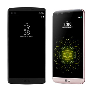 LG G5 and LG V10 Receive U.S. Government Stamp of Approval for Enterprise and Military Use