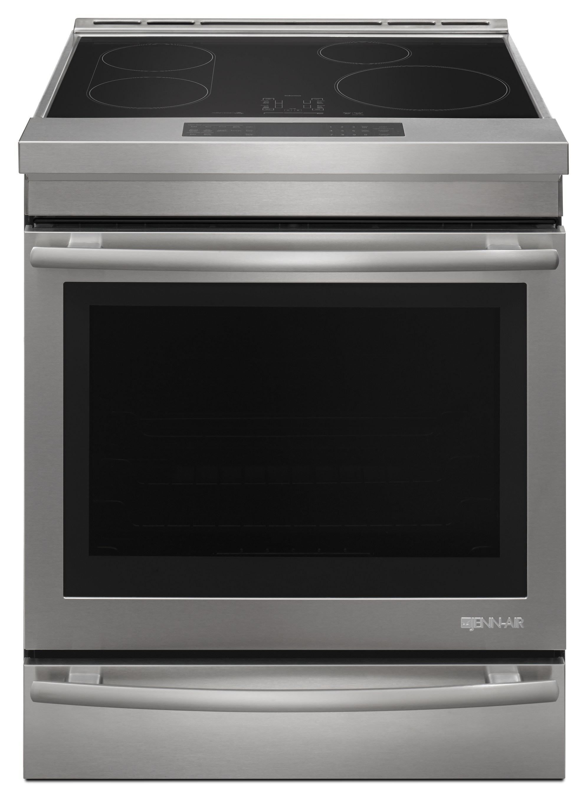 Featuring a full-depth design that easily installs seamlessly into a standard opening, the new Jenn-Air induction range offers increased oven baking capacity and a host of luxury details, from soft-close oven doors to telescoping glide racks.