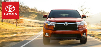 The redesigned 2014 Toyota Highlander arrives in Janesville, Wis. just in time for spring. (PRNewsFoto/Hesser Toyota)