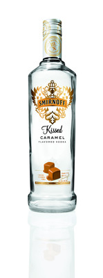 SMIRNOFF Vodka Reveals Two New Indulgent, Celebratory Flavors - Iced Cake And Kissed Caramel - Just In Time For The Upcoming Holiday Season.  (PRNewsFoto/SMIRNOFF)