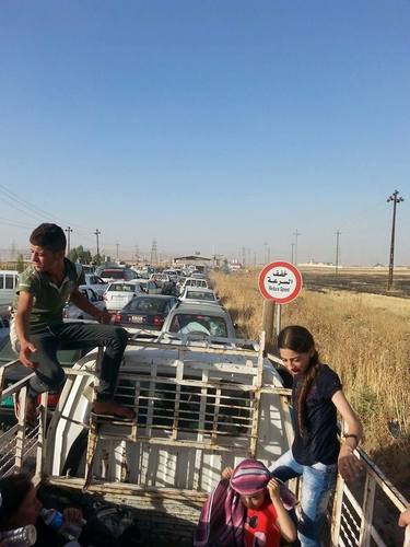 Tens of Thousands of Christians Flee ISIS Attack on Nineveh Town of Qaraqosh (Hamdaniya)