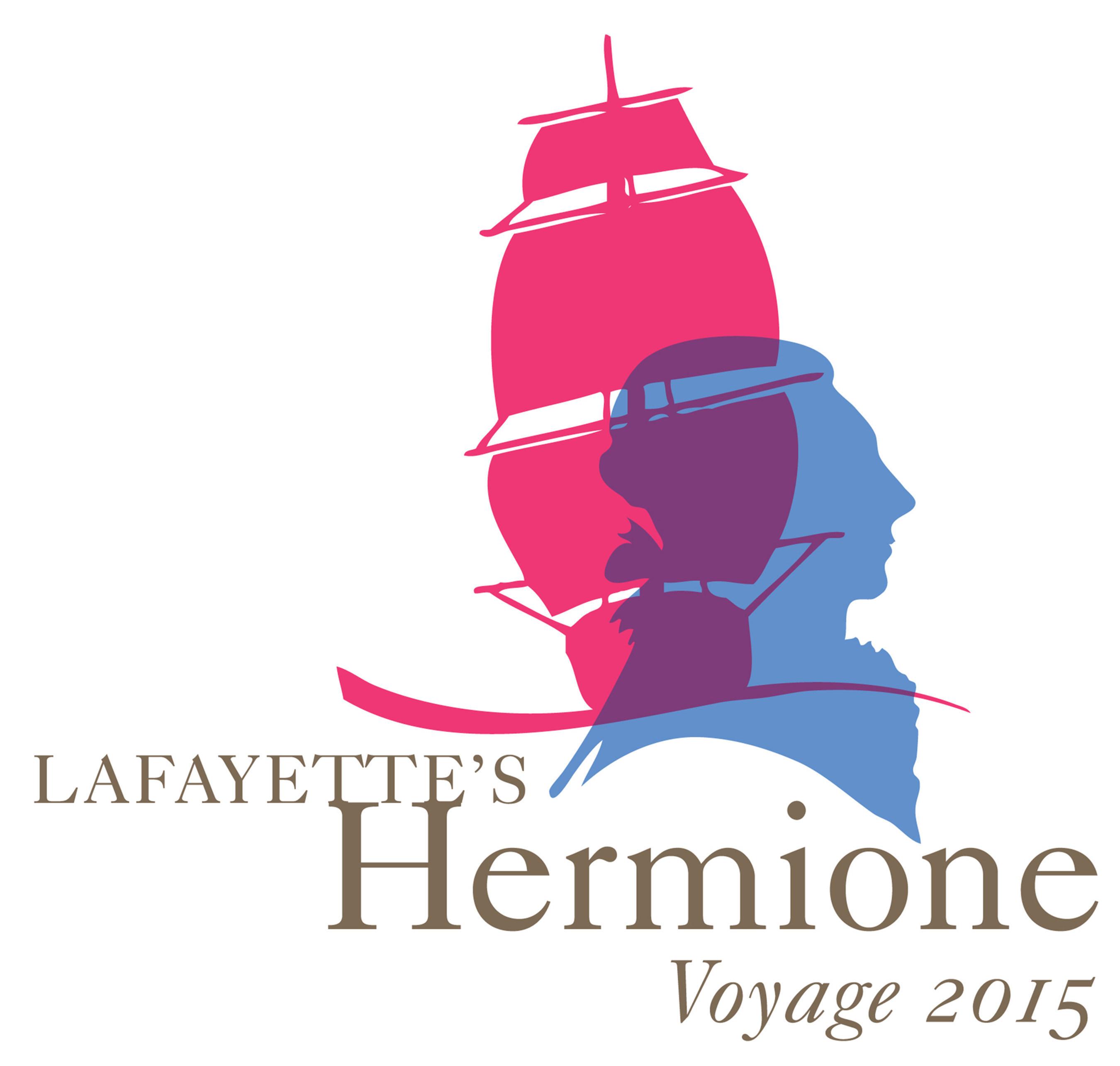 Lafayette's Hermione Voyage Logo