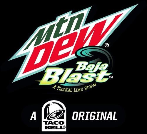 MTN DEW BAJA BLAST LOGO (PRNewsFoto/PepsiCo)