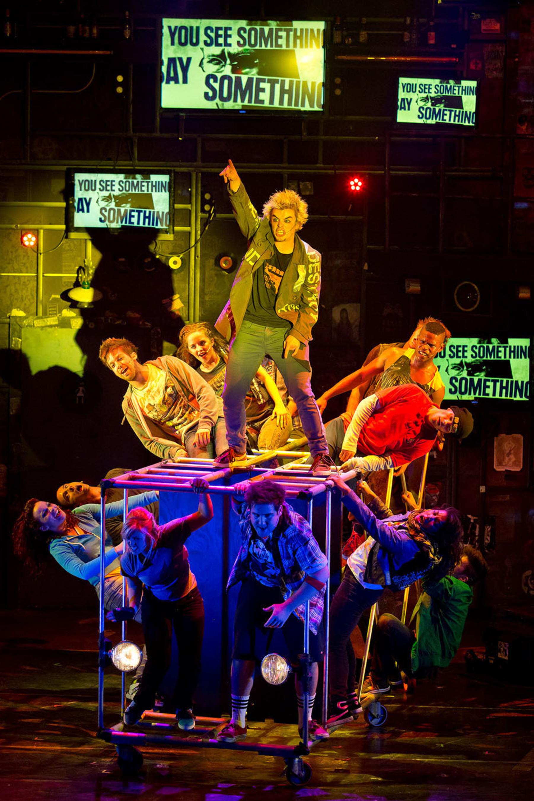 "Green Day's Hit Musical ""American Idiot."" (PRNewsFoto/Riverwalk Arts & Entertainment District) (PRNewsFoto/RIVERWALK ARTS & ENTERTAIN...)"
