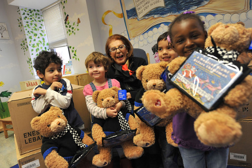 1,000 New York City Tots to Get a Bear Hug and a Holiday Bedtime Story